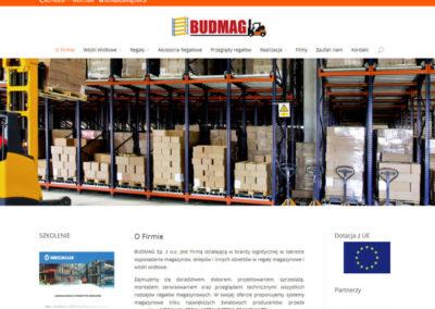 BUDMAG.COM.PL – Strona internetowa dla firmy z branży budowlanej