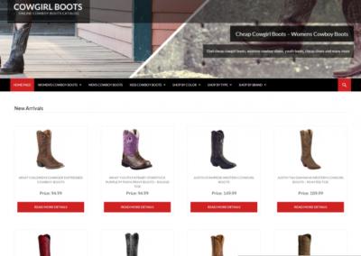 COWGIRL BOOTS  – Sklep internetowy z butami