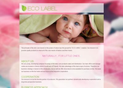 ECO LABEL – Strona dla biznesu