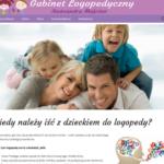 GABINET LOGOPEDYCZNY - Strona internetowa dla gabinetu lekarskiego