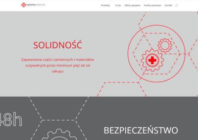 SYSTEMY MEDYCZNE – Strona internetowa dla firmy z branży medycznej