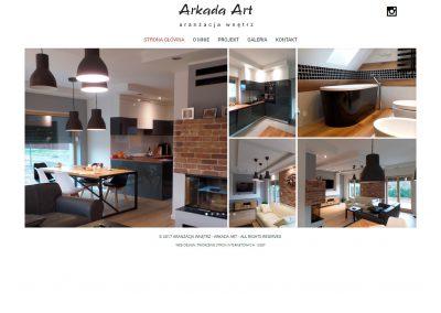 ARANZACJA-WNETRZ.COM – Strona internetowa dla projektanta