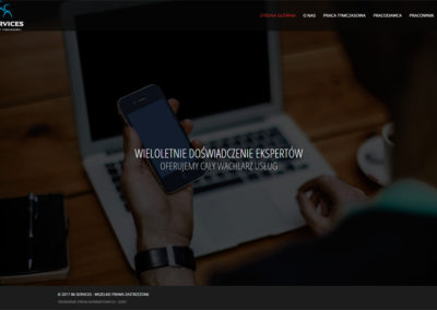 B6SERVICES.PL – Strona internetowa dla agencji pracy