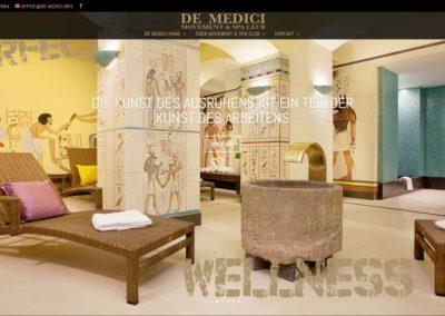DE-MEDICI.INFO – Strona internetowa dla klubu fitness