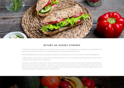 ECO-CATERING.PL – Strona internetowa dla firmy cateringowej