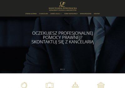 LUKOSZCZYK.PL – Strona internetowa dla adwokata