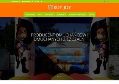 ROY-JOY.PL – Strona internetowa dla biznesu