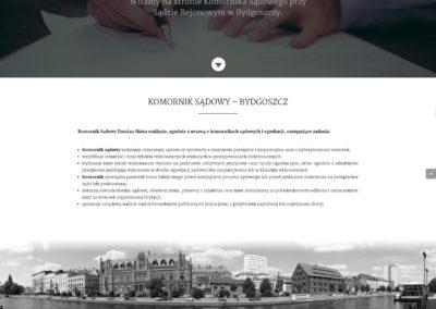 KOMORNIKSKORA.PL – Strona internetowa dla komornika