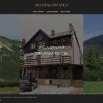 KRYSZTALOWE-WILLE.PL - Strona internetowa dla branży turystycznej
