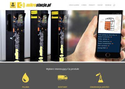 MIKROSTACJE.PL – Strona dla stacji benzynowych