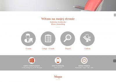 RADOSLAWKOZLOWSKI.PL -Strona internetowa dla stomatologa