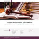 DUDAFRANKOWSKA.PL – Strona internetowa dla kancelarii adwokackiej