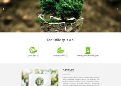 ECO-ORLIC.PL – Firmowa strona internetowa