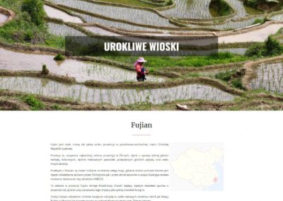HELLO-FUJIAN.COM – Strona internetowa dla branży turystycznej