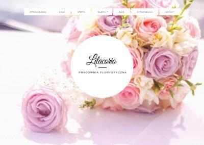 LILACORIO.PL – Strona dla kwiaciarni