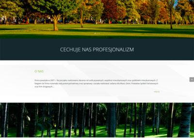 SERWISZIELEN.PL – Strona internetowa dla serwisu zieleni