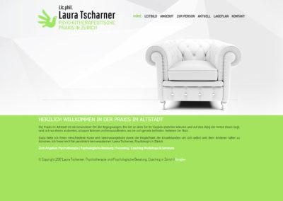 TSCHARNER-PRAXIS-PSYCHOLOGIE.CH – Strona internetowa dla psychologa