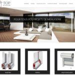 TOPMENUISERIE.FR – Strona internetowa dla firmy budowlanej