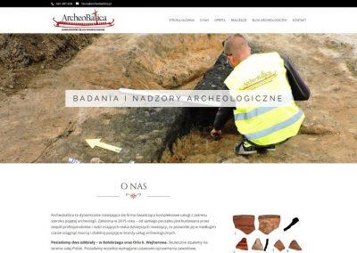 ARCHEOBALTICA.PL – Usługi archeologiczne