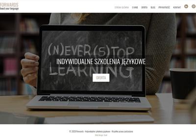 Forwards.pl – Indywidualne szkolenia  językowe